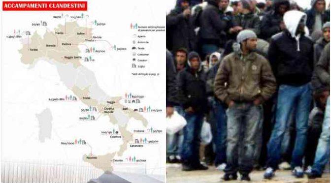 Guerriglia: immigrati assaltano militari che radono al suolo baraccopoli
