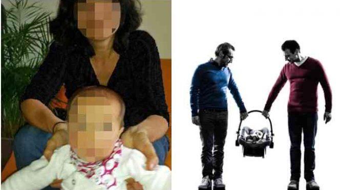 """Bibbiano a Torino: """"Mi hanno tolto il figlio per darlo a coppia gay"""""""