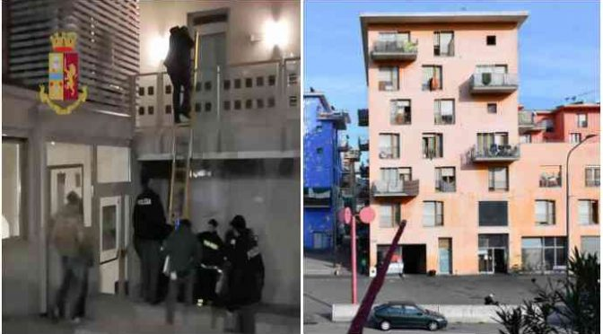 Lo sgombero farsa dell'ex-Moi: 57mila euro per ogni immigrato
