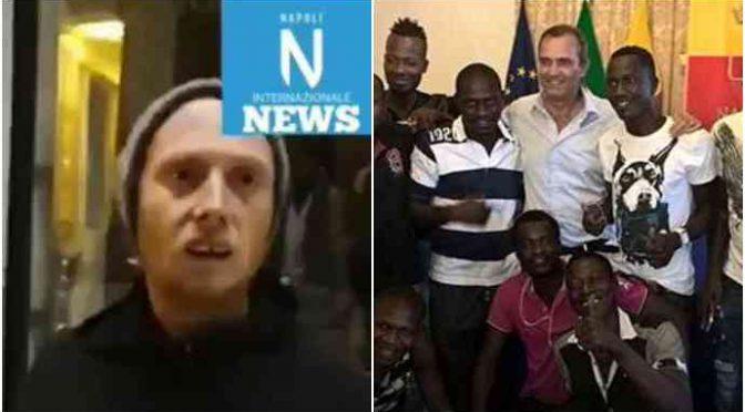 Napoli, sindaco fa buttare le coperte dei senzatetto italiani – VIDEO