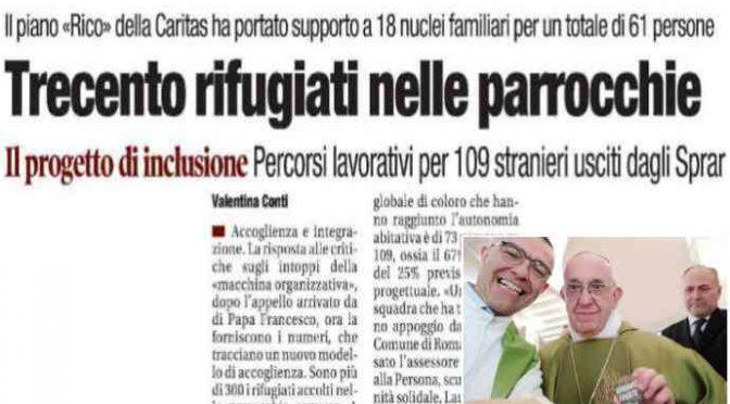 Roma, Caritas trova casa e lavoro a 300 profughi