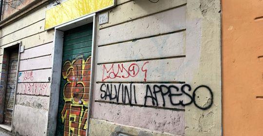 Ancora minacce contro Salvini, è l'odio della sinistra