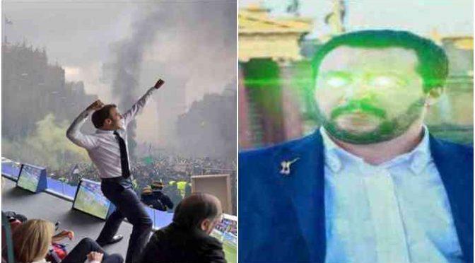 Macron si arrende, chiede ad Haftar di ritirarsi