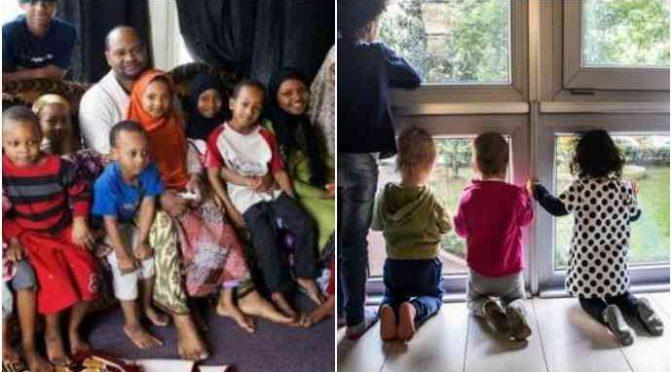 Mamma italiana e 3 bimbi sfrattati, casa ad Alì e 9 figli