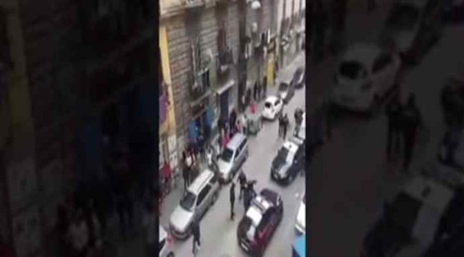 Fermano pusher nigeriano, immigrati circondano carabinieri – VIDEO
