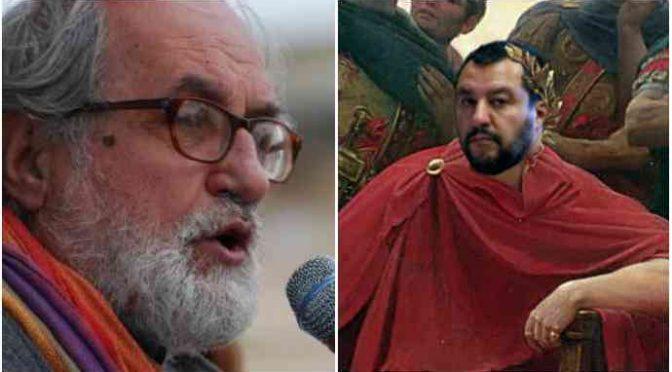 """Padre Zanotelli contro Salvini: """"Sia processato per disumanità"""""""