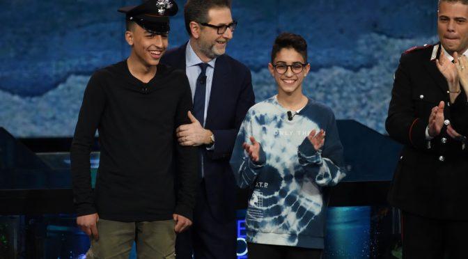 """Ospiti da Fazio, Rami e Adam minacciano: """"Faremo i carabinieri"""" – FOTO"""