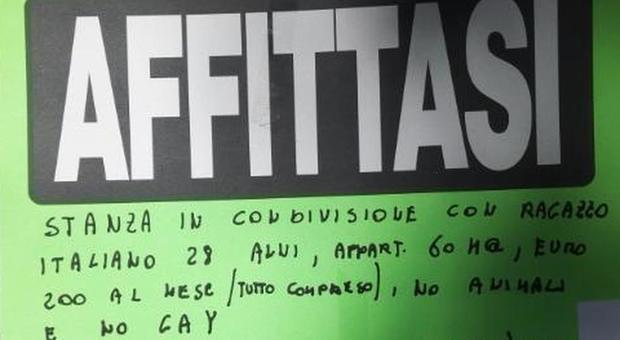 Roma: «Niente affitto a gay e immigrati», ma l'annuncio è una bufala