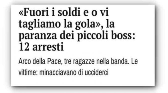 """""""Fuori i soldi o vi tagliamo la gola"""", la gang di migranti minacciava italiani"""