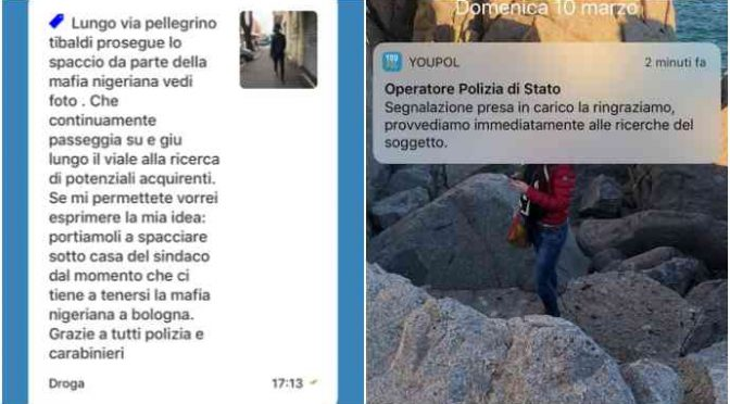 Bologna, cittadini fotografano spacciatori – FOTO