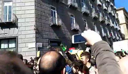 I teppisti rossi del clima volevano attaccare Salvini – VIDEO