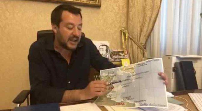 Attacco all'Italia: da mafia scafisti 3 colpi contro Salvini