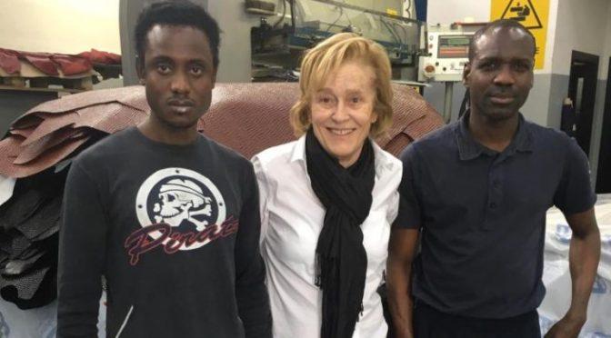 Assume africani al posto italiani, premiata dall'Onu – FOTO