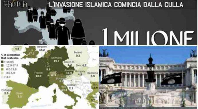 """Studio lancia allarme: """"Musulmani saranno metà della popolazione italiana"""""""