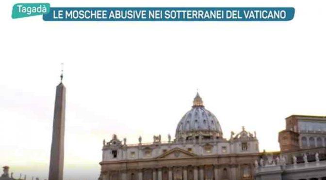 Le 40 moschee nei sotterranei del Vaticano – VIDEO