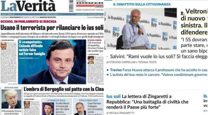 Pd vuole dare la Cittadinanza alla Mafia nigeriana, dopo averla traghettata in Italia