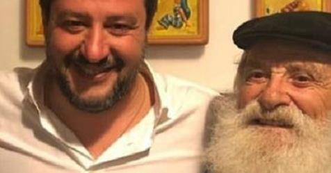 Anziano pestato per il selfie con Salvini, è odio rosso