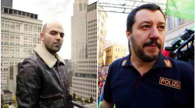 """Onu contro Salvini: """"Ha minacciato Saviano, il difensore dei migranti"""""""