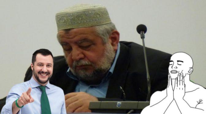"""Imam dà ragione a Salvini: """"Prima gli italiani, noi islamici siamo ospiti"""""""