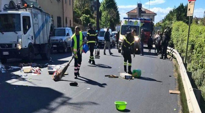 Migrante insoddisfatto sfascia tutto, italiani costretti ripulire