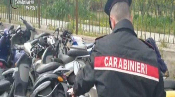 Militari trovano 50 scooter rubati in centro profughi