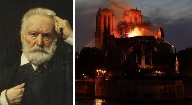 Notre Dame, la profezia di Victor Hugo: «Una grande fiamma tra i due campanili»