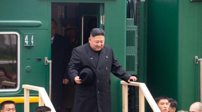 Il panda nordcoreano a Valdivostok per incontrare Putin
