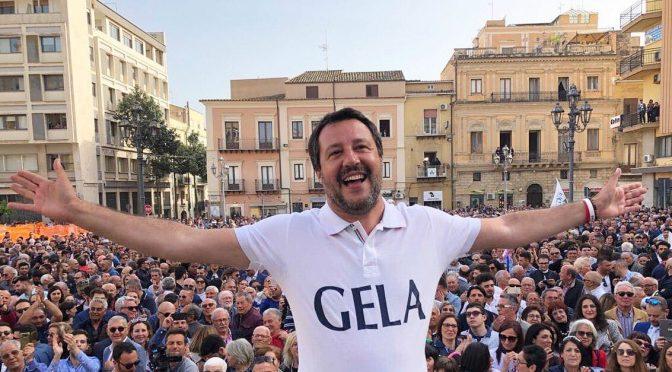 Lega al ballottaggio a Gela: è boom Salvini in Sicilia
