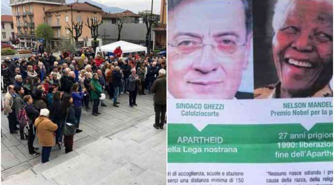 200 disperati del Pd manifestano: vogliono i profughi davanti le scuole