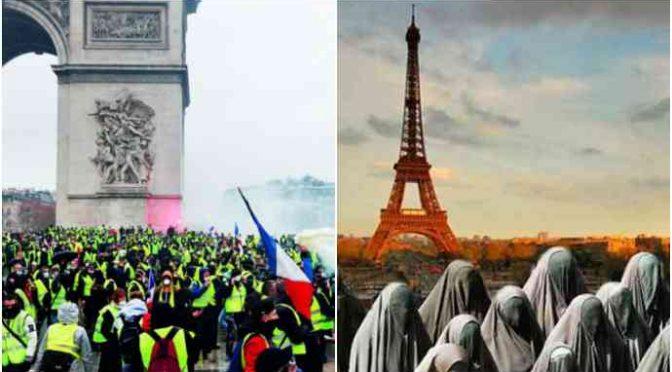 I Gilet gialli si prendono Parigi: Macron schiera 60mila agenti – VIDEO