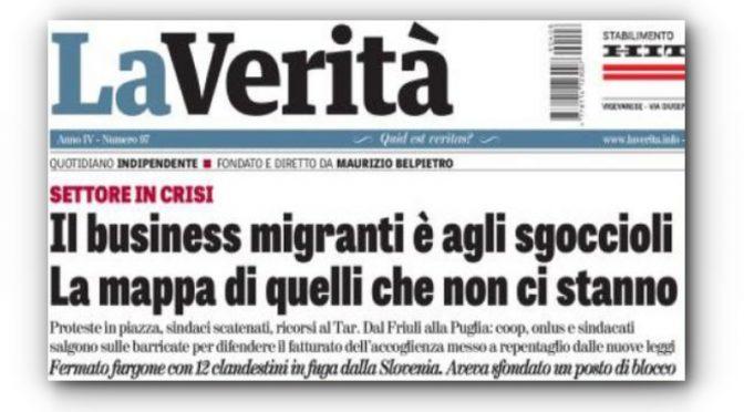 Pacchia finita, i parassiti delle Coop scendono in piazza contro Salvini