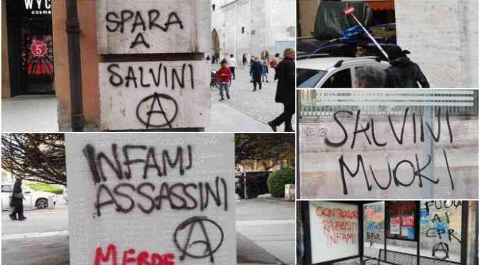 Modena devastata da manifestanti del 25 Aprile – FOTO CHOC