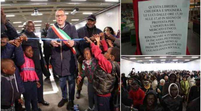 Pescara, PD inaugura il mercato africano – FOTO