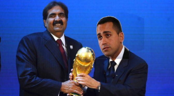 Fermate Di Maio, vuole svendere pezzi d'Italia al Qatar