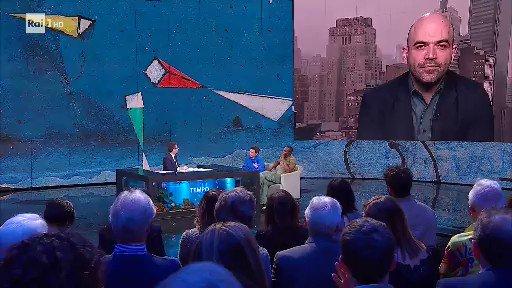Fazio invita Saviano e il prete scafista al posto di Salvini
