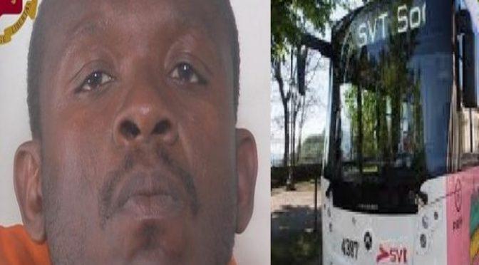 Nigeriano tenta di stuprare autista: aveva richiesto asilo