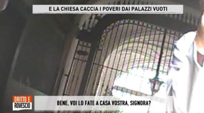 """Chiesa respinge italiani e accoglie solo immigrati: """"Ma a pagamento"""" – VIDEO"""