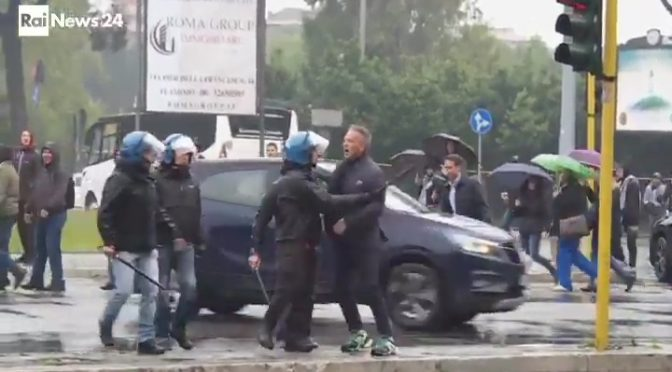 """Zingaro di m…"", Mihajlovic aggredisce agenti – VIDEO"