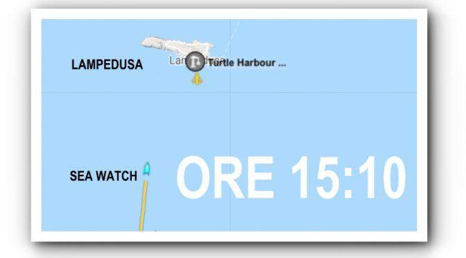 SeaWatch entra in acque italiane: è terrorismo umanitario
