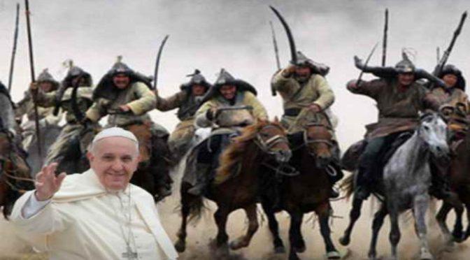 """Bergoglio celebra le Ong: """"Onore a chi accoglie i migranti"""""""