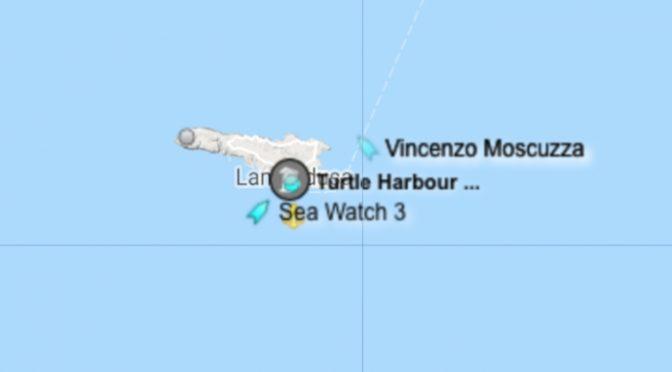 Sea Watch è a Lampedusa: vietato sbarco, è terrorismo