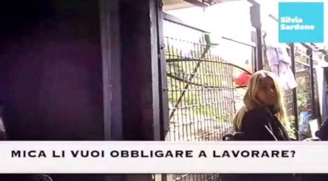 """Milano, parlano i Rom di Sala: """"Non vogliamo lavorare"""" – VIDEO"""