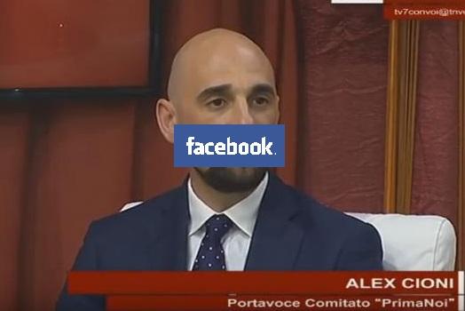 Facebook gli cancella il profilo, Cioni denuncia Zuckerberg