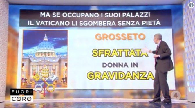 Vaticano sfratta diabetici e donne incinte – VIDEO