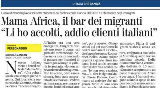 Mama Africa, chiude il bar dei clandestini: incubo del quartiere