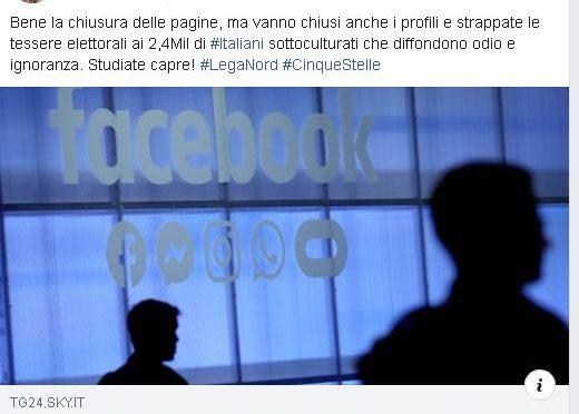 Presidente Arcigay: vuole vietare a 2,4 milioni di italiani di votare Lega