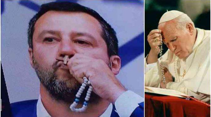"""Il prelato sta con Salvini: """"Giusto difendere i confini"""""""
