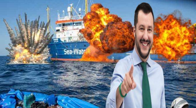 Scontro a Lampedusa: navi italiane intimano l'alt a SeaWatch, elicotteri in volo
