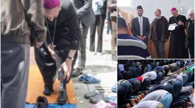 Bologna, vescovo partecipa a preghiera islamica – VIDEO CHOC