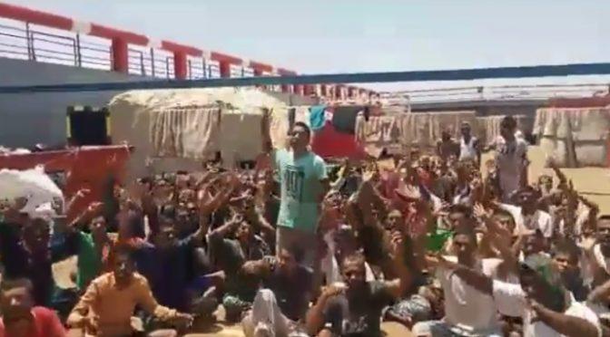 Tunisia, 63 clandestini bengalesi si fanno rimandare in Bangladesh